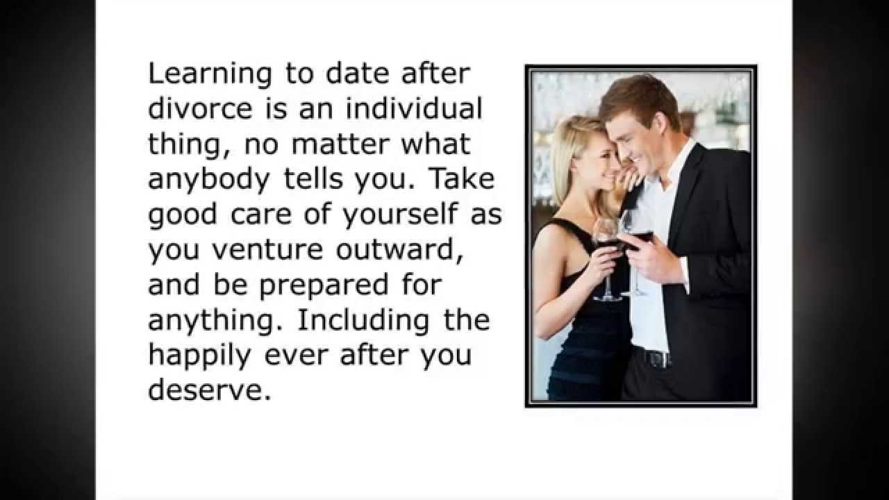 Good dating while going through a divorce