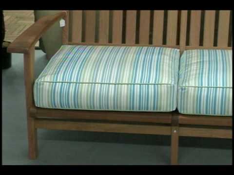 how much fabric to cover a chair cushion advantage church chairs measure sofa youtube