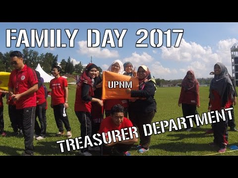 Organizing The Treasurer Department Family Day 2017