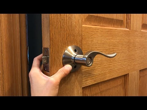 How To Replace And Install A Door Knob Youtube