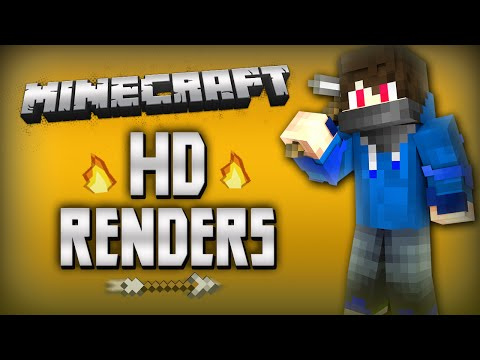 How to make Minecraft Renders with Cinema4D