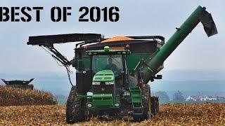 best of 2016   tractors in action   john deere   case ih   claas   fendt   spinar24hd