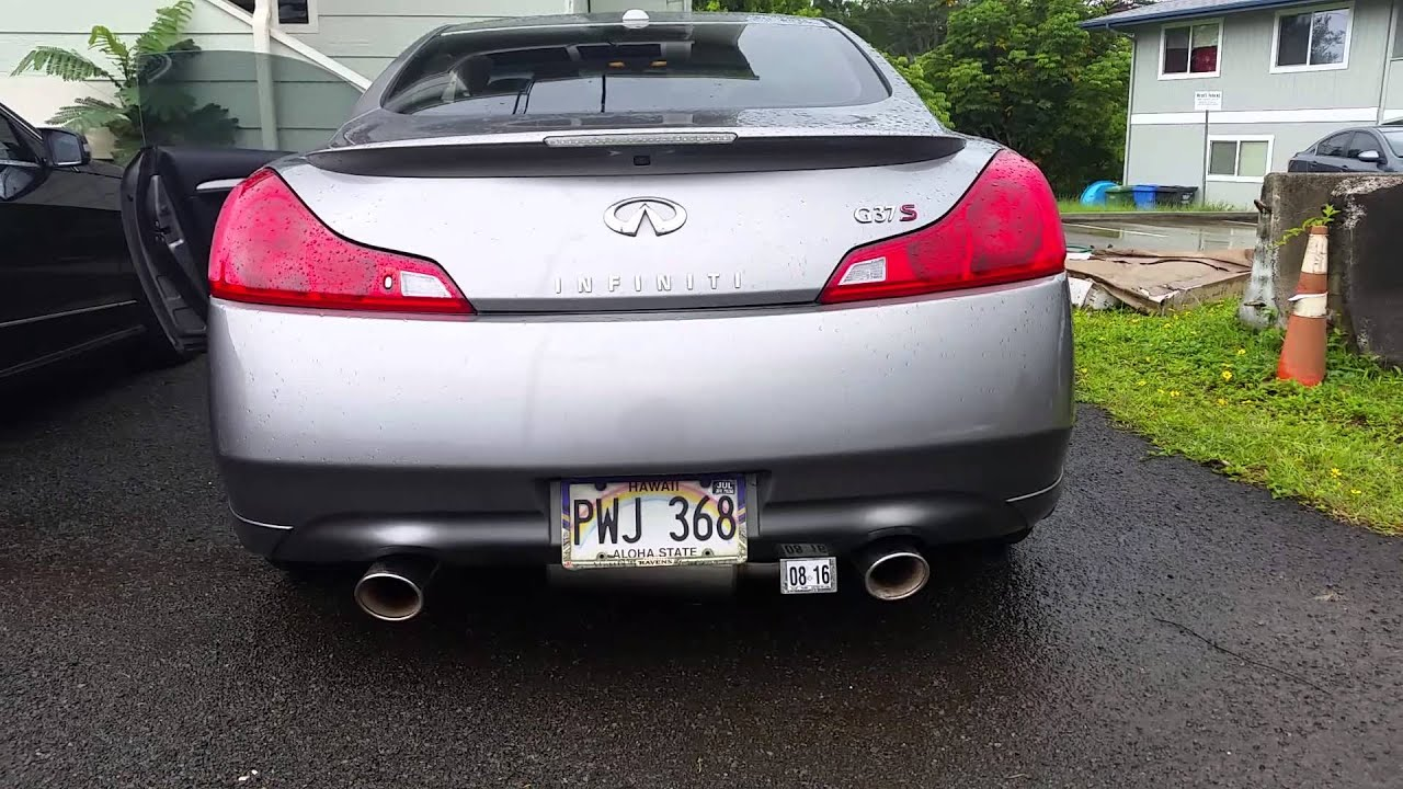 G37S w/Fast Intentions headers/aFe Takeda exhaust