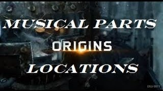 """ORIGINS"" Musical Parts Locations (Needed for Staffs) - Black Ops 2 Zombies"
