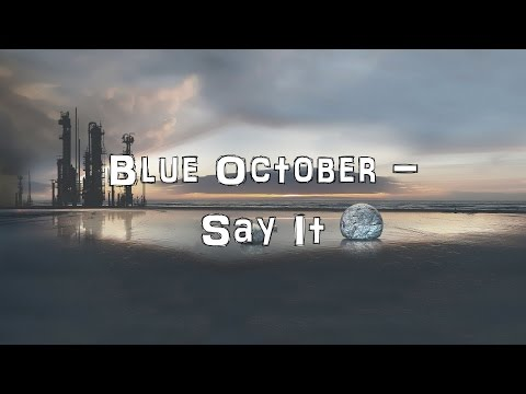 Blue October - Say it [Acoustic Cover.Lyrics.Karaoke]