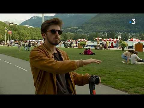 Restrictions, limitations de vitesse... Comment Annecy s'organise face à l'afflux de trottinettes électriques - - France 3 Auvergne-Rhône-Alpes