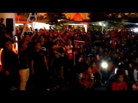 Momen Gathnas Arsenal Indonesia Supporter Cirebon