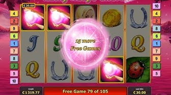 Lucky Lady's Charm 105 Free Spins!