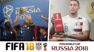 USA WINNING WORLD CUP?? - FIFA 18 WORLD CUP CAREER MODE!!