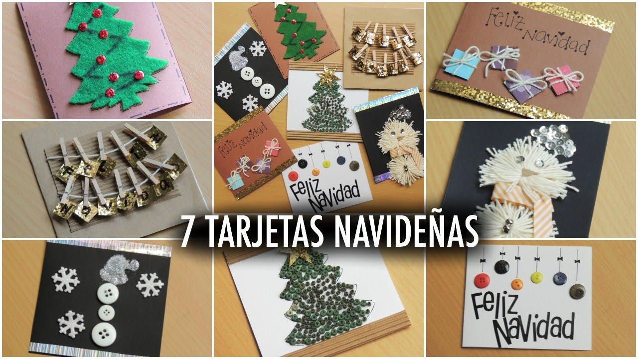 7 ideas de tarjetas navide as navidadstyling - Ideas navidad manualidades ...
