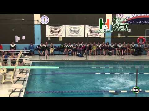 Hiller Swimming & Diving vs. Tyngsboro