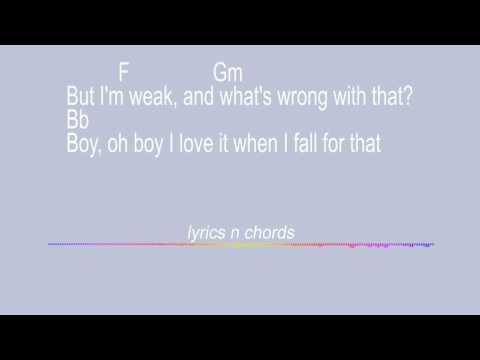 weak ajr lyrics and chords