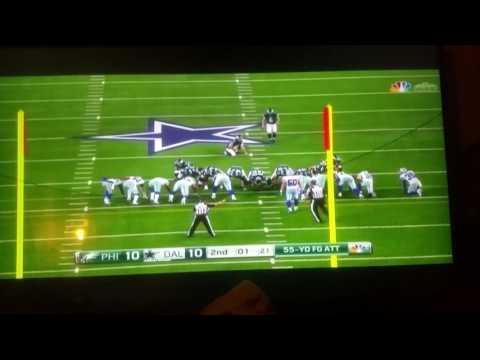 Eagles vs Dallas week 8 2016