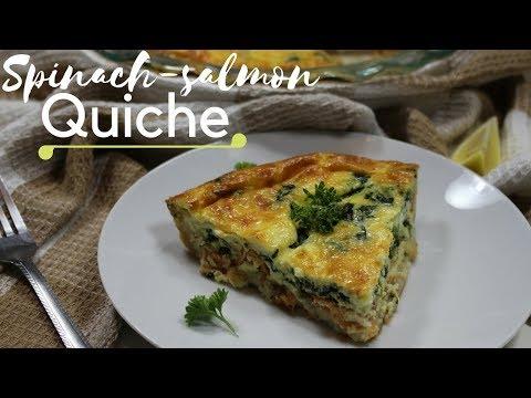 very-easy-salmon/spinach-quiche---quiche-Épinard/saumon-trÈs-facile