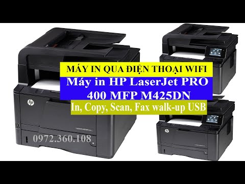 Máy in HP LaserJet PRO 400 MFP M425DN