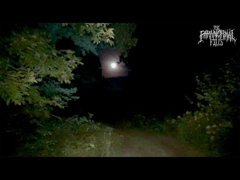 Exploring the Most Haunted Forest in America at Night | THE PARANORMAL FILES