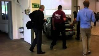Porsche 911 aerodynamic concept / Museum Secrets.MOV