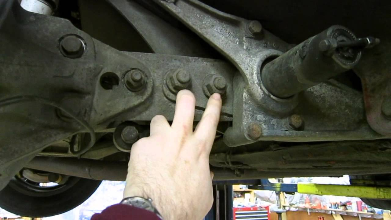medium resolution of how a 944 rear suspension works