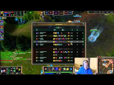 """League of Legends """"The Journey Back"""". How to go from Gold to Diamond I. Plat 5 to Plat 4! Game 1!"""