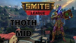 SMITE FR - Ligue en Conquête : Thoth alors OP ?