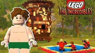LEGO SPOT FROM THE GOOD DINOSAUR UNLOCKED! - Lego The Incredibles 100% Gameplay #17