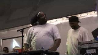 DJ Premier vs. DJ Scratch w/ DJ Evil Dee @ Red Hook Park, Brooklyn, NYC