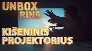Kišeninis išmanusis projektorius | AIPTEK | Unbox Ring || Laisvės TV X