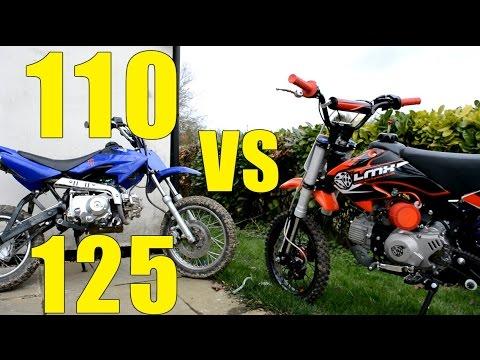 110cc VS 125cc | Comparison Video