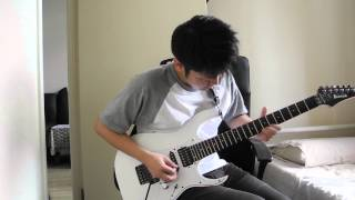 Dream Theater - Octavarium Guitar solo cover (Razor
