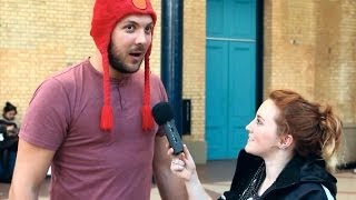 Interviewing male YouTubers like female celebrities