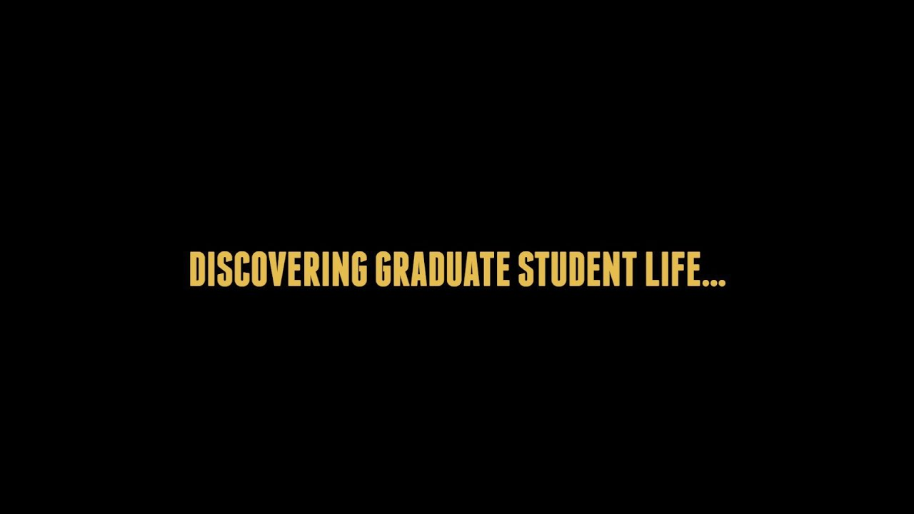 Discovering Graduate Student Life