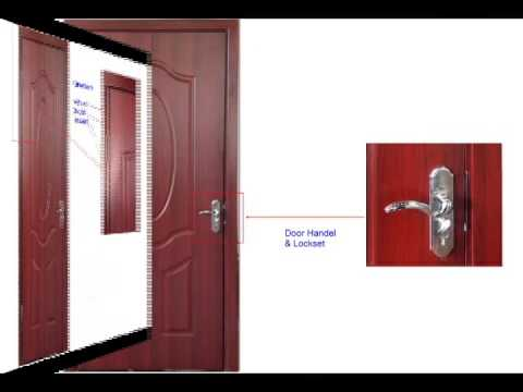 Melamine Door  sc 1 st  YouTube & Melamine Door - YouTube