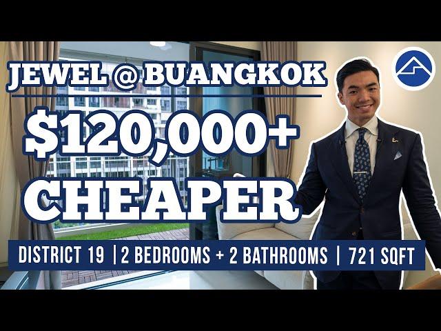 Jewel @ Buangkok | Super young 2 Bedroom 2 Bathroom [3 mins to Buangkok MRT]