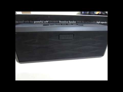 Sharkk Portable Bluetooth Boombox Speaker Review
