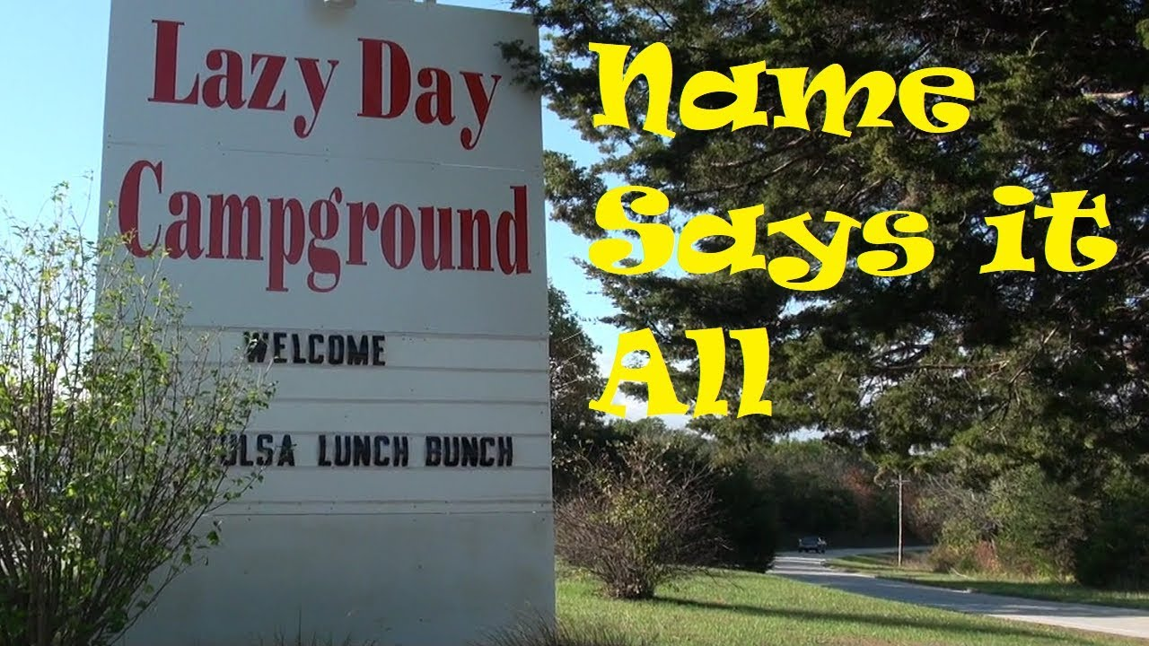 Lazy Day Campground near Hermann MO.   Part time RV
