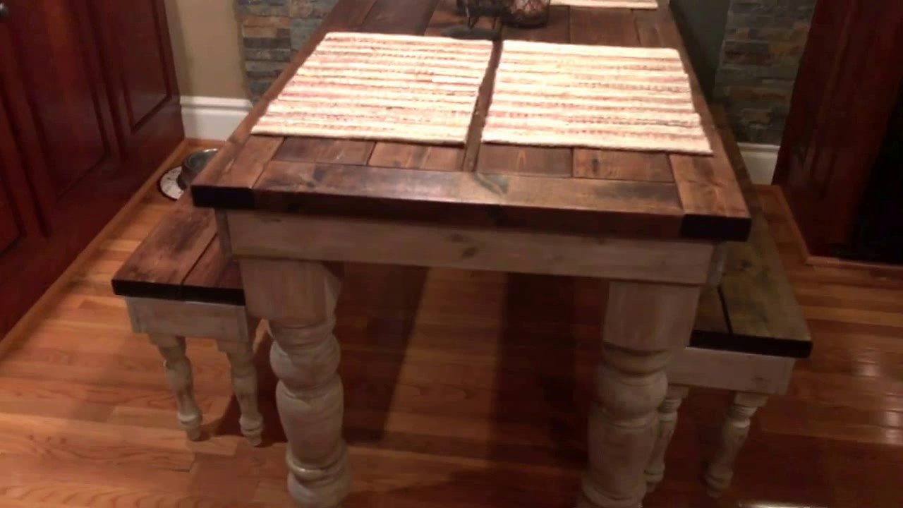 Beau My New Rustic Farmhouse Table, By AJu0027s Furniture, Sparta, TN.
