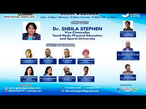 Innovation in Education Summit, Sixth Advisory Meet Webinar