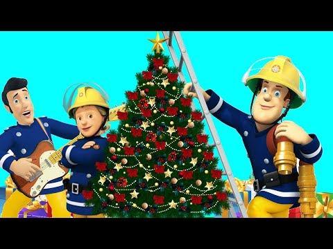 Sam el Bombero en Españo ❄️ Especial de Navidad ⛄ Santa en la floja | Compilación | Dibujos animados