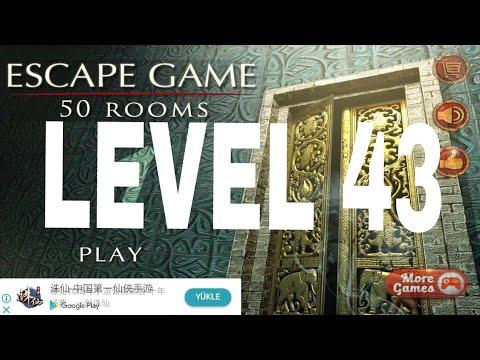Escape Game 50 Rooms 1 Level 43 Walkthrough Youtube
