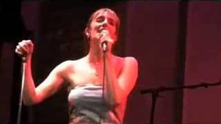 Julia Murney singing RAISE THE ROOF from The Wild Party