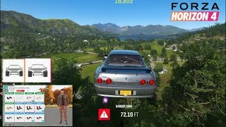 Forza Horizon 4 - First Look At Spacers / Avatar Customization & Emotes