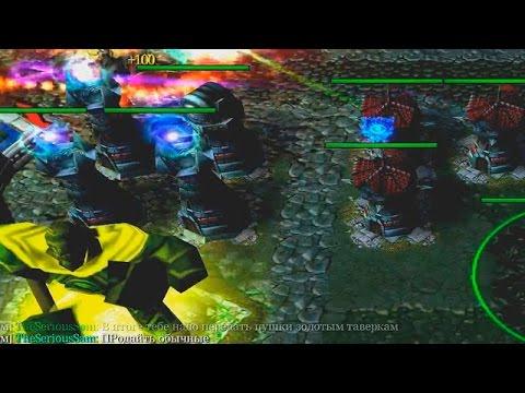видео: Крутая карта warcraft 3 - paladin td
