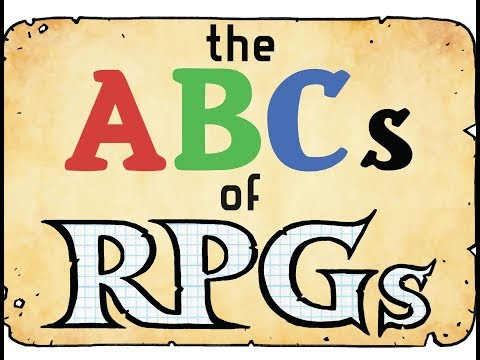 The ABC's of RPGs - A book reading