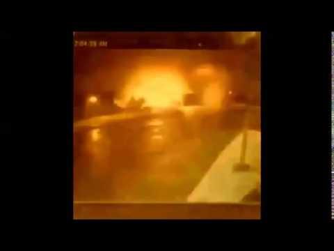 Появилось видео взрыва в Германии. Explosion in Ansbach, Germany. Новости 25.07.2016