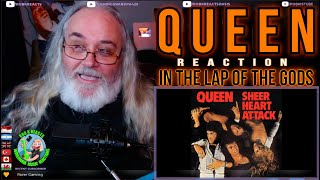Queen Reaction - In The Lap Of The Gods - Requested