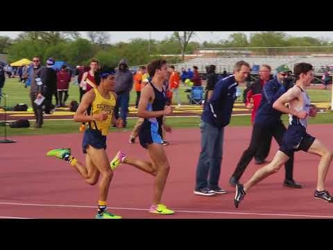 2018-5-17 IHSA Track 1600 Meters Sectional 3A