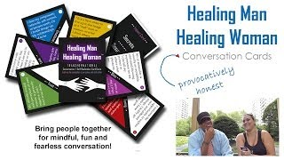 Bring People Together for Mindful, Fun and Fearless Conversation! - HMHW Conversation Cards