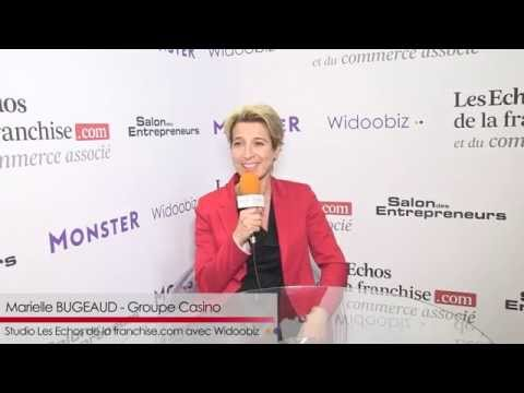 Interview franchise Groupe Casino - Marielle Bugeaud