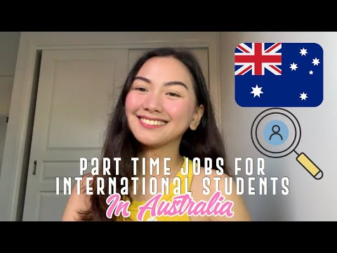 Most Common Part Time Jobs for International Students in Australia 2020