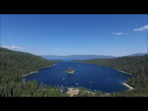 Flying above Emerald Bay!